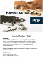 Powder Metallurgy (P