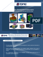 TDMG Brochure Design - Analysis