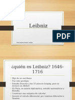 Importancia de Leibniz