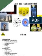 Radioaktivität Präsentation