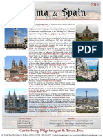 Fatima and Spain Sample Pilgrimage