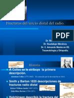 FracturasdelTercioDistaldelRadio