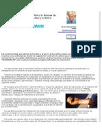 Lesiones Gravísimas en La Piel y La Mucosa de Nariz y Paladar Del Hombre y El Perro