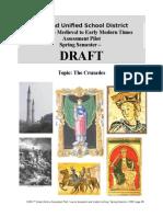 7th Grade Assessment Pilot - The Crusades