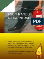 Uso y Manejo de Extintores 121027205742 Phpapp01