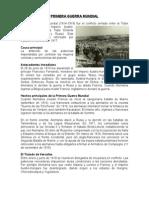 Resumen de Las Guerras Mundiales
