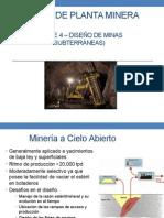 DPM - Parte 4 - Diseño de Mina Subterránea
