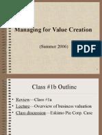 Valuation 방법