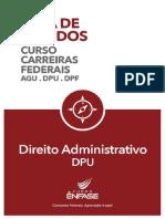 Federais Guia de Estudos Direito Administrativo DPU