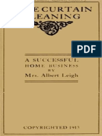 Lace Curtain Cleaning_ a Successful Home Business by Sarah Ann Leigh