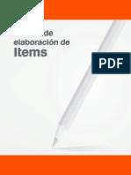 Manual Elaboracion de Items Pruebas Nacionales