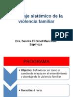 Abordaje Sistemico de La Violencia Familiar