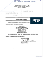 Datatreasury Corporation v. Small Value Payments Company - Document No. 77