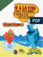 Recetario Mariscos Vol3