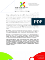 01-07-2011 Protección Civil atendió reporte ciudadano  por lluvias en la colonia Arroyo. C360