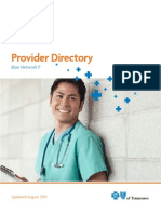 BCBS Network P Directory