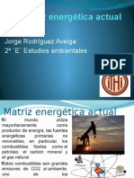 Matriz Energética Actual