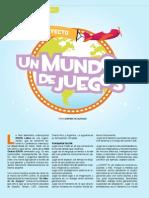 """Proyecto """"Un mundo de Juegos"""""""