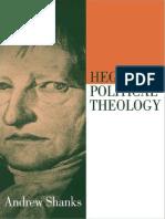 Andrew Shanks,Hegel's Political Theology (1991)