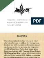 Presentación de Slipknot