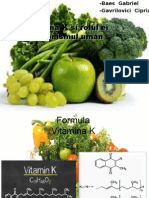 Referat Vitamina K