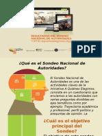 Resumen Resultados Sondeo Nacional de Autoridades de A Quiénes Elegimos