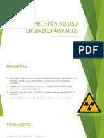 Dosimetría Radiofármacos