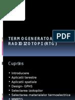 Termogeneratoare Cu Radioizotopi (RTG) (1)