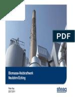 Biomasse-Heizkraftwerk
