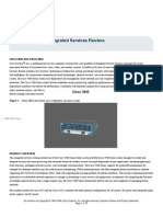 Cisco 3825 router Product Data Sheet
