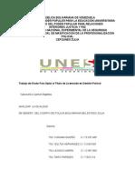 Trabajo de Grado ANALIZAR LA IGUALDAD de Genero del CPBEZ (1).doc