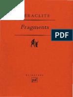 Heraclite Fragments