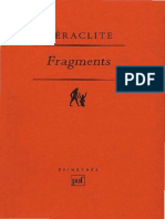 Heraclite Fragments