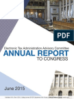 Electronic Tax Administration Advisory Committee Annual Report to Congress