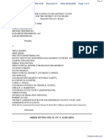 Fredericks et al v. Koehn et al - Document No. 6