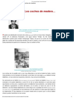 Los Coches de Madera _ Vivencias Personales