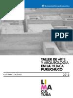 Guia Para Docentes - Huaca Puruchuco 0