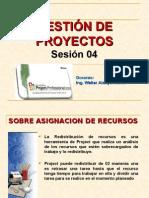 BASE TEORICA DE MS PROJECT SESION 05