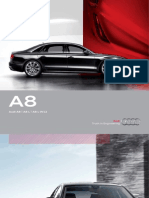 Audi A8 2012 Misc Documents-Brochure