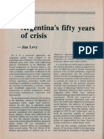 Jim Levy - Argentinas Fifty Years of Crisis