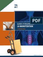 Guide Ergonomie Manutention