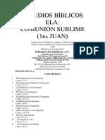 Estudios Bíblicos Ela 1 Juan