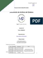 RTF3 Proyecto Analisis MundoProveedor