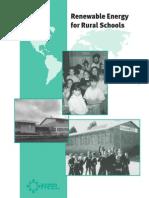 Energias Alternativas Para Escuelas Rurales