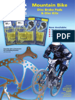Hydraulic disc pads brochures