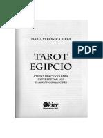 Tarot Egipcio Maria Verónica Riera