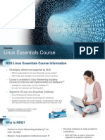NDG Linux Essentials Overview