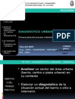 PRESENTACIÓN TP Nº2 - DIAGNÓSTICO URBANO LOCAL MAGDALENA- 2015.ppsx