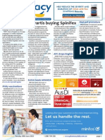 Pharmacy Daily for Tue 30 Jun 2015 - Novartis buying Spinifex, Big pharma tax hearings, Medicinal pot premature, Guild Update and much more