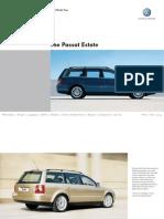 Passat Estate b5 Brochure